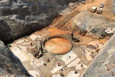Pre-sink of Shaft 2 at Ivanhoe's Platreef underground project months away