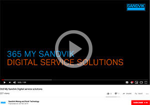 VIDEO: 365 My Sandvik Digital service solutions