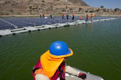 Anglo American deploys floating solar panels on Los Bronces tailings pond