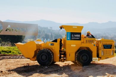 Aramine and ARMZ sign agreement for L140B battery-powered miniLoader