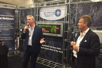 Maestro Digital Mines' Zephyr AQS leaves its mark at CIM convention