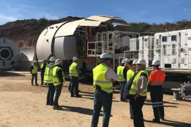 Master Drilling's Mobile Tunnel Borer heads to Anglo's Mogalakwena mine