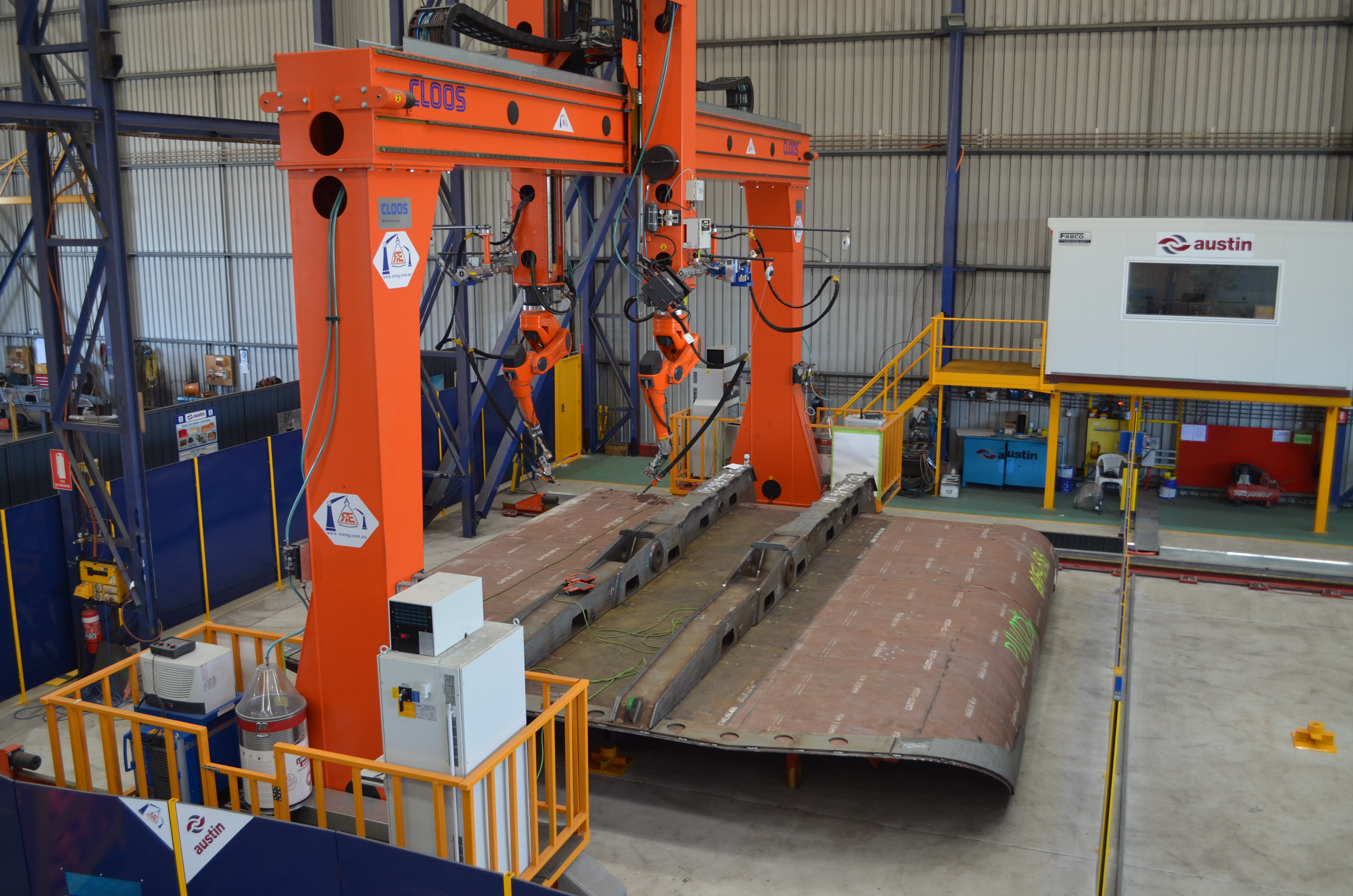 Austin Engineering Robotic Welder To Boost Efficiency Productivity And Output International Mining