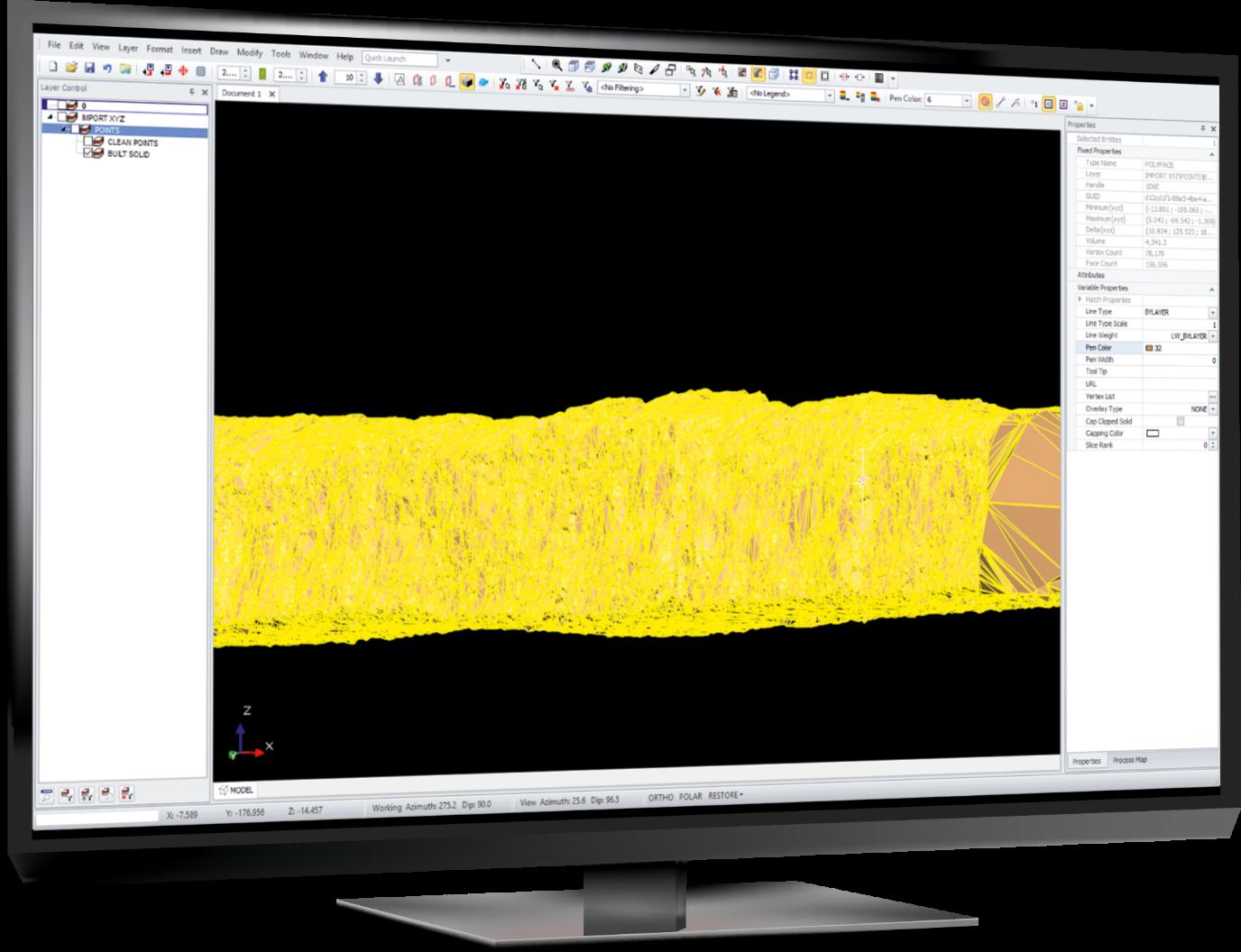 Latest Deswik module speeds up creation of survey solids