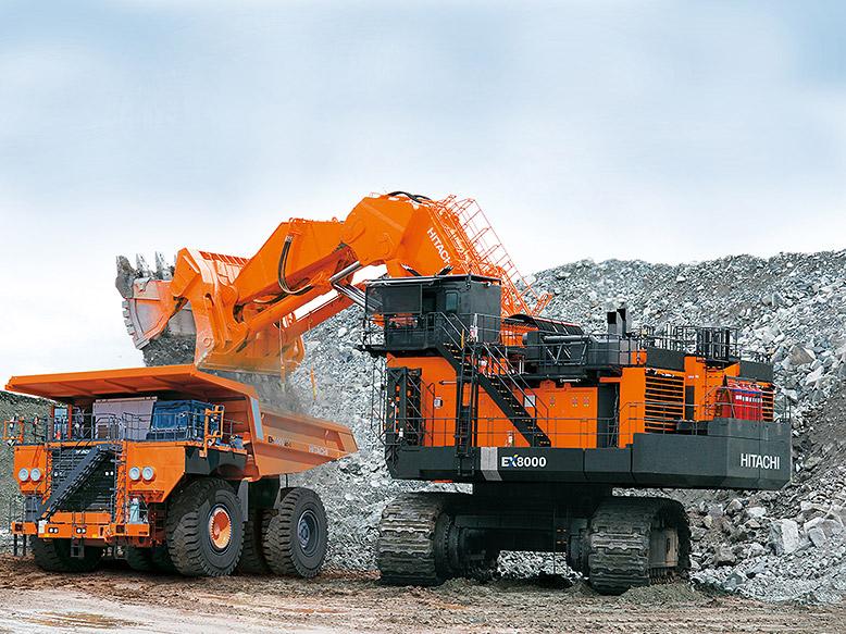 hitachi mining machinery