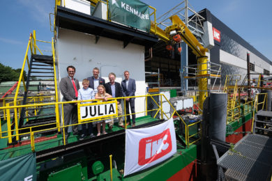 Royal IHC readies new mining cutter suction dredger for Kenmare's Moma mine