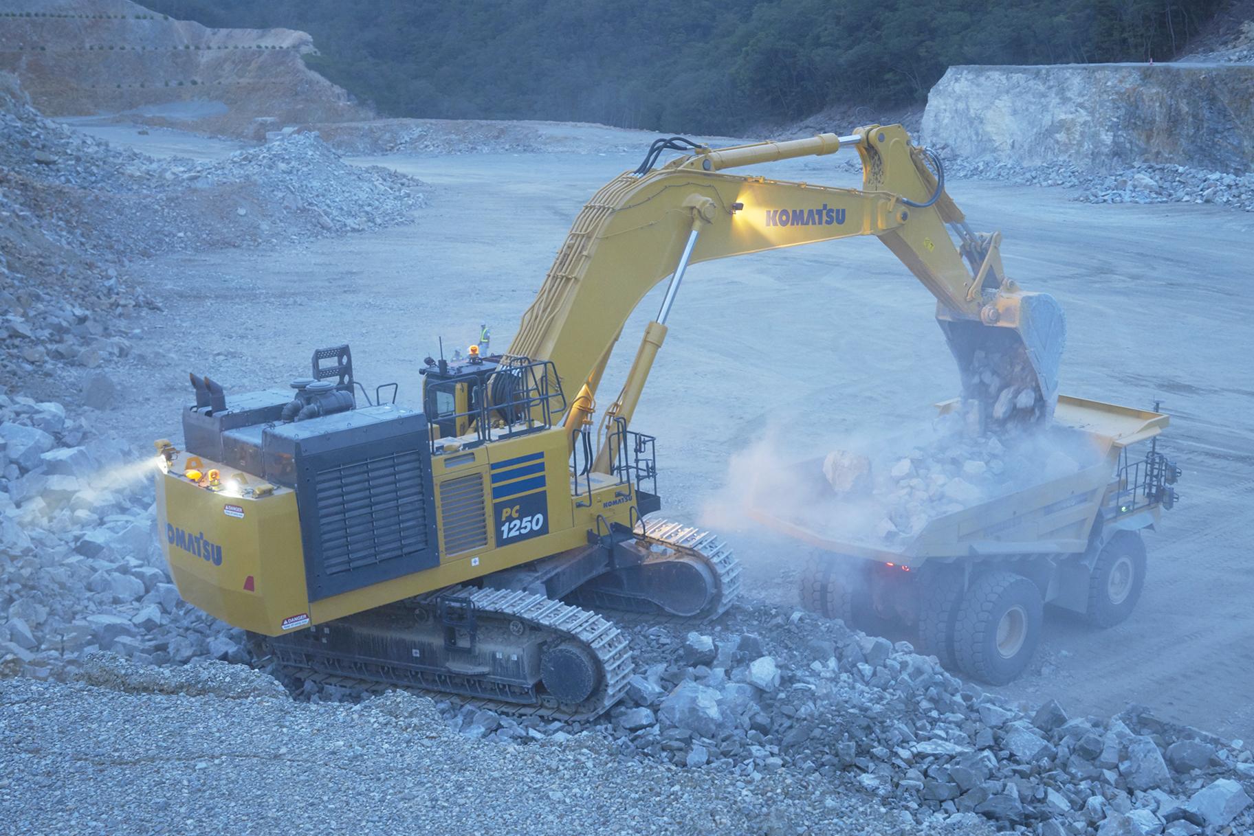 Diesel Exhaust Fluid >> Komatsu America introduces new PC1250SP-11 Tier 4 Final excavators - International Mining