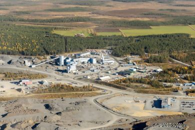 Agnico Eagle's Kittilä water treatment plant team win award for process innovation