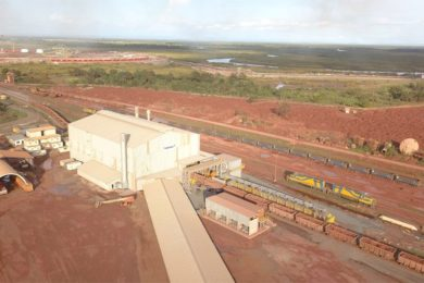 Tenova TAKRAF passes railcar test at Guinea bauxite expansion project