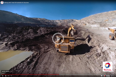 VIDEO: Mining with Total Oil Australia for Success