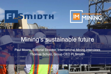 Mining's sustainable future