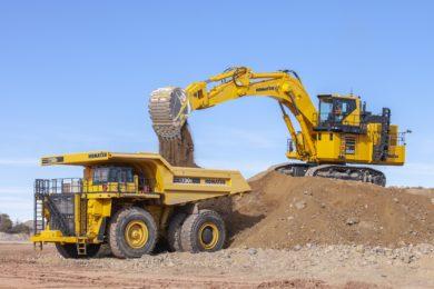 Komatsu introduces PC2000-11 hydraulic excavator