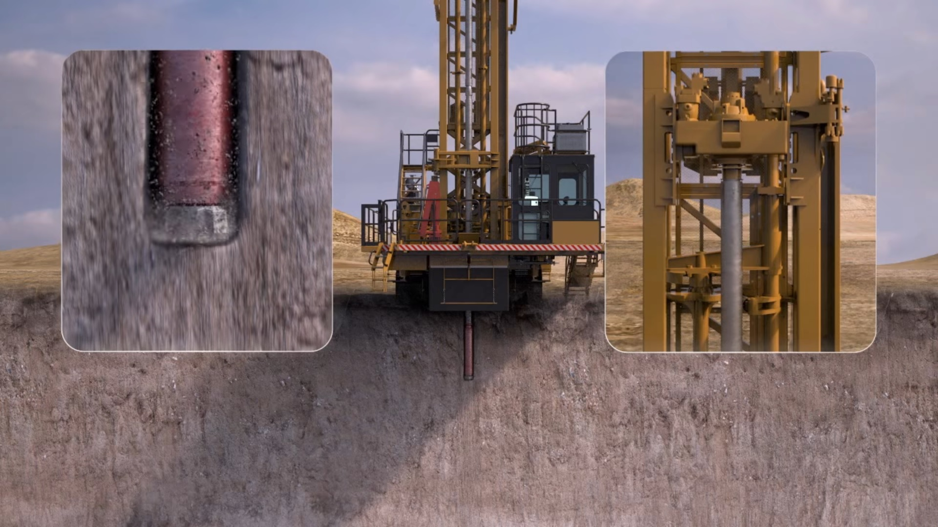 Cat DTH hammers and bits up the ante in blasthole drilling