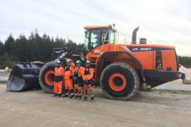 CEMEX orders 100 Doosan wheel loaders for its operations across Europe