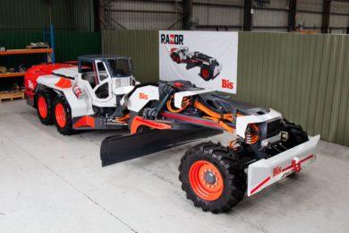 Bis launches Razor underground grader for coal mines