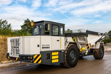 GHH upgrades its largest underground truck with Stage V compliant engine