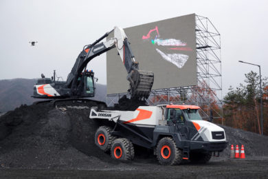 Doosan Infracore demonstrates Concept-X 'construction site of the future'