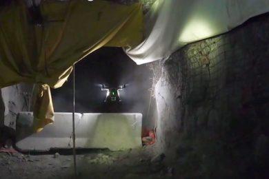 SafeSight celebrates over 100 underground drone flights at Newmont Goldcorp's Hoyle Pond mine