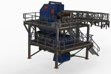 Innovative Weba Chute design gets rock moving again in deep gold mine