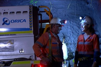 Orica reports acceleration in WebGen™ wireless initiation & other new tech in mining