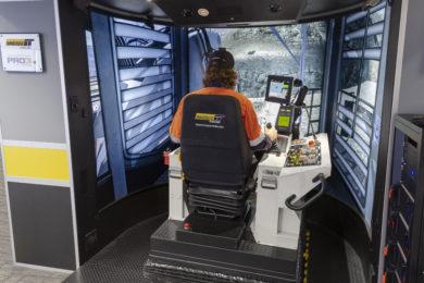 Immersive simulator training to close gap between manned & autonomous ops at Quellaveco