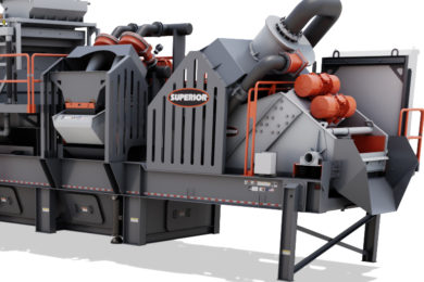 Superior Industries to debut portable wash plant at CONEXPO
