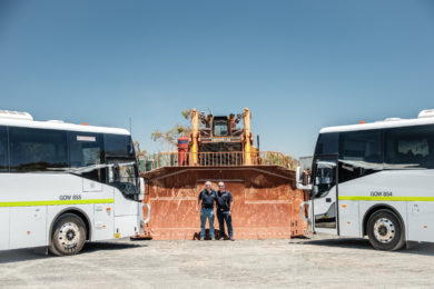 Go West Tours secures record contract for bus operations across BHP's Pilbara sites