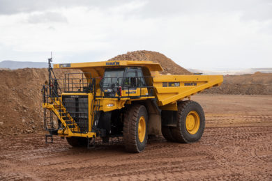 Komatsu America's presents new HD785-8 high horsepower off-highway truck