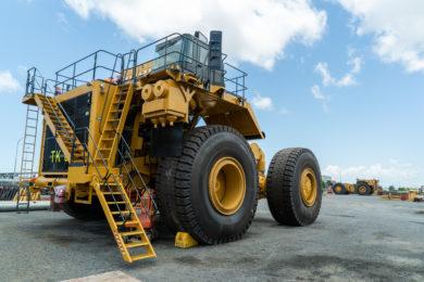 Adani Australia main mining fleet taking shape at Carmichael coal mine