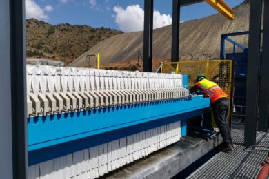 Chromite and coal operations improve tailings water recovery with Multotec filter press technology