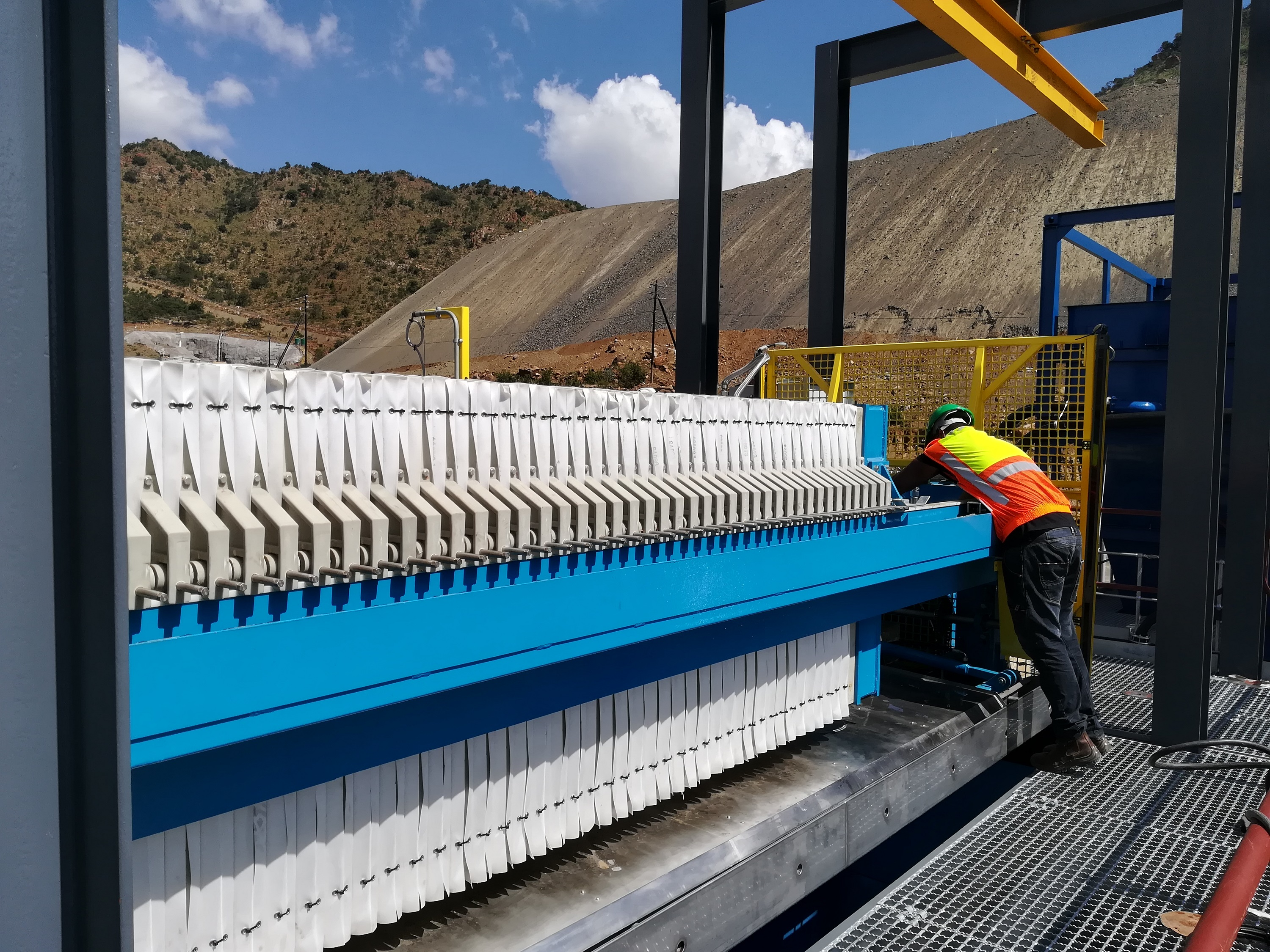 Chromite and coal operations improve tailings water recovery with Multotec filter press technology - International Mining