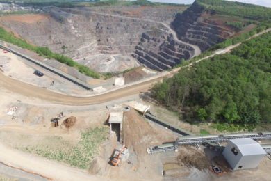 Doppelmayr overcomes backfill hurdles at UK quarry with RopeCon system