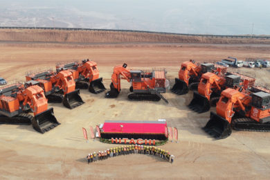 Record Hitachi EX3600 electric shovel fleet goes to work at Mae Moh in Thailand
