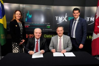 Brazil's IBRAM signs MOU with TSX & TSX Venture Exchange to boost Canadian investment in Brazilian mining