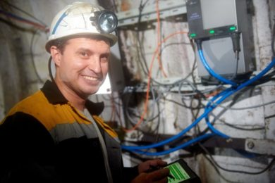 Ukrainian energy group DTEK installs country's first underground coal mine Wi-Fi network