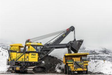 Komatsu boosts productivity on P&H electric rope shovels