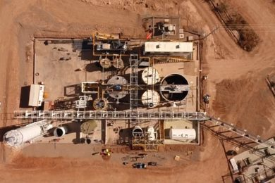 SART plant up and running at GoGold's Parral tailings facility