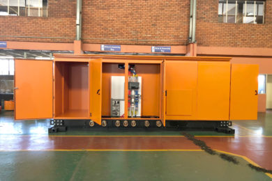 Trafo devises mobile dry-type power solution for coal mine