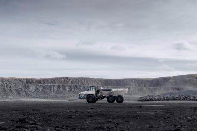 Terex Trucks' TA400s brave -45˚C in Russia's Arpatsky mine