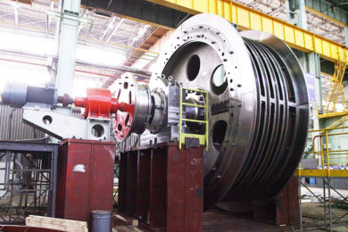 Russia's Uralmashplant ships new hoist to Siberian Polymetals' Korbalikhinsky mine