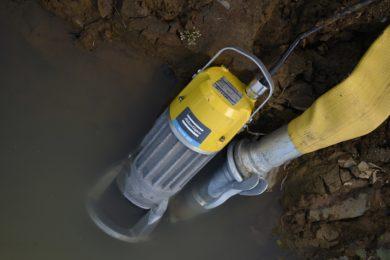 Atlas Copco tackles sludge with new WEDA submersible dewatering pump