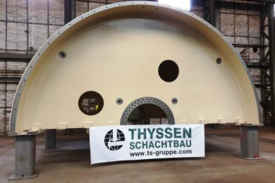 Thyssen Schachtbau's OLKO making rapid progress with winders for Slavkaliy's potash mine in Belarus