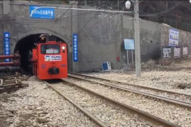 China's mines rolling out unmanned underground rail systems at a rapid pace