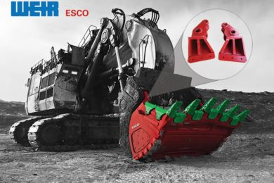 ESCO fabricated hinge neck wins out over OEM cast parts on iron ore face shovels