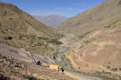 TAKRAF dry-stacked tailings test work boost for Los Andes Copper's Vizcachitas project