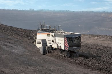 Wirtgen surface miner technology maximises output at India's Bhubaneswari coal mine