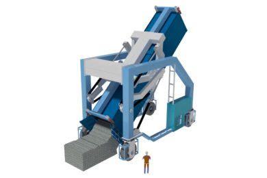 New Revolution Container Loader & Mover finds the right angle