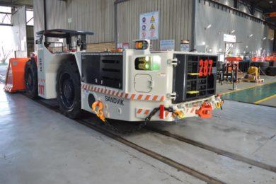 Sandvik LS312 LHD makes its way to Sasol underground operation