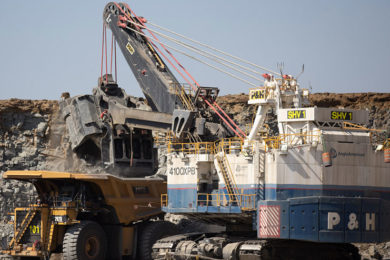 Anglo American could use 'green' hydrogen power at Queensland open-pit coal mines
