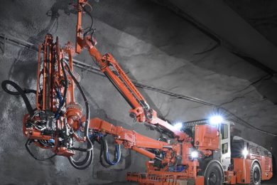Sandvik to add rock bolter to battery-powered mining line up